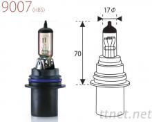 9007-Clear鹵素燈泡