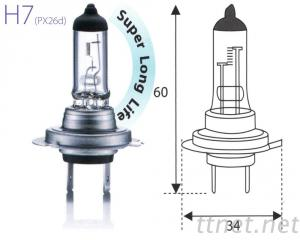 H7-12V Clear汽車燈泡