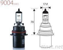9004-Clear 汽車燈泡