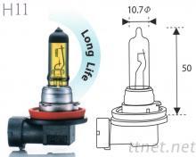 H11-Yellow汽車鹵素燈泡